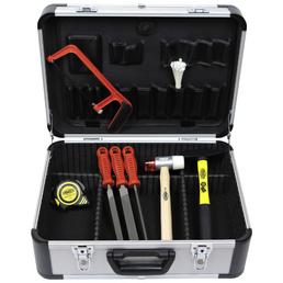 FAMEX Werkzeugkoffer »FAMEX 719-44«, Metall, bestückt, 214-teilig