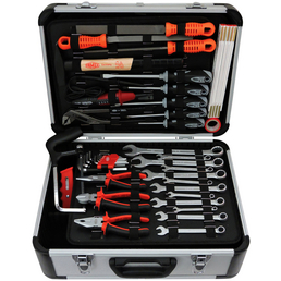 FAMEX Werkzeugkoffer »FAMEX 729-94«, bestückt, 48-teilig