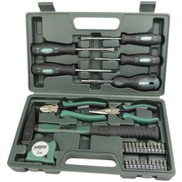 BRUEDER MANNESMANN WERKZEUGE Werkzeugkoffer »M29031«, Kunststoff, bestückt, 31-teilig