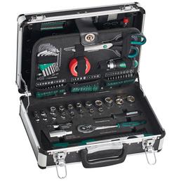 BRUEDER MANNESMANN WERKZEUGE Werkzeugkoffer »M29067«, Aluminium, bestückt, 90-teilig