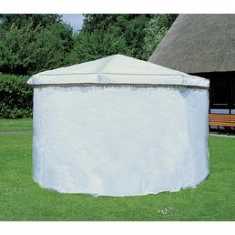PROMADINO Wetterschutzumhang, BxHxT: 595 x 162 x 1 cm, weiß