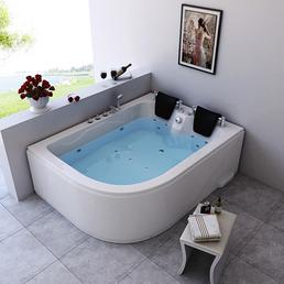 HOME DELUXE Whirlpool, für 2 Personen, BxTxH: 180 x 120 x 65 cm