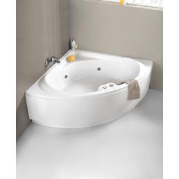 OTTOFOND Whirlpool »Laguna«, BxHxL: 136 x 43 x 136 cm, weiß