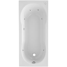 OTTOFOND Whirlpool »Nixe«, BxHxL: 75 x 42,5 x 170 cm, weiß