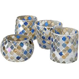 BOLTZE Windlicht »Horya«, bunt, Glas