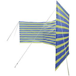HAPPY PEOPLE Windschutz, Polyester, HxL: 135 x 400 cm