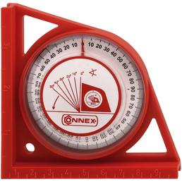 CONNEX Winkelmesser, Kunststoff, 150 x 120 mm