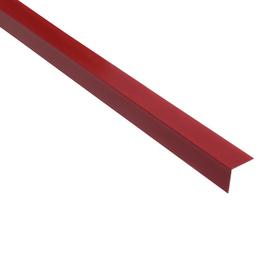 GAH ALBERTS Winkelprofil Kunststoff dunkelrot 2600 x 20 x 20 x 1,5 mm