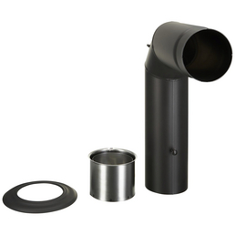 FIREFIX® Winkelrauchrohr, Ø 150 mm
