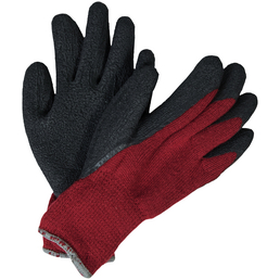 MR. GARDENER Winterhandschuh »Winter«, schwarz/rot, Latexbeschichtet
