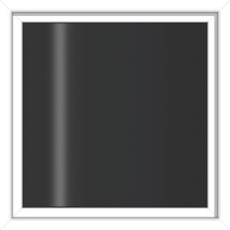 RORO Wohnraumfenster »2-Scheiben «, Holz, weiß, Glasstärke 24mm