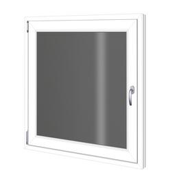 RORO Wohnraumfenster »2-Scheiben «, Kunststoff, weiß, Glasstärke 24mm
