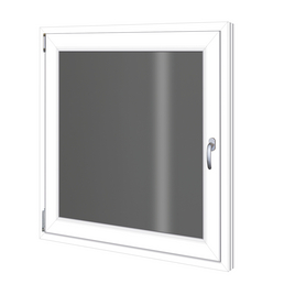 RORO Wohnraumfenster »3-Scheiben «, Kunststoff, weiß, Glasstärke 32mm