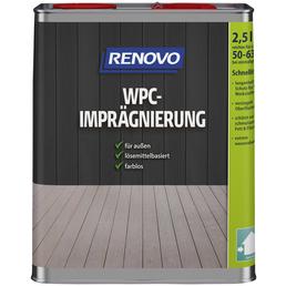 RENOVO WPC-Imprägnierung, Farbton farblos, für außen, 2,5 l