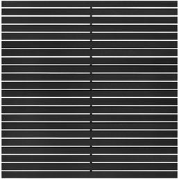 WPC-Rhombuszaun »Katepos«, WPC, 11 Stück, HxL: 90 x 180 cm