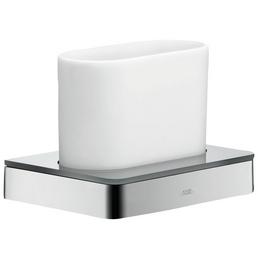 HANSGROHE Zahnputzbecher »Axor Universal«, Metall/Glas, verchromt