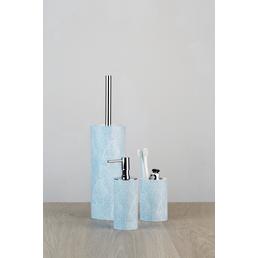 WENKO Zahnputzbecher »Sky«, Höhe: 11,5 cm, weiss/hellblau