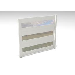 GARDENDREAMS Zaun »Hekate«, Aluminium, LxH: 180 x 180 cm