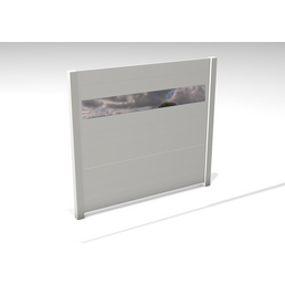 GARDENDREAMS Zaun »Hybris«, Aluminium, LxH: 180 x 180 cm