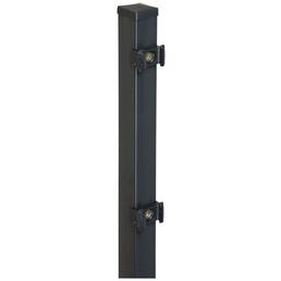 FLORAWORLD Zaunpfosten, Stahl, BxHxL: 4 x 4 x 100 cm