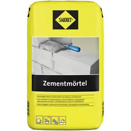 SAKRET Zementmörtel, Grau, 25 kg