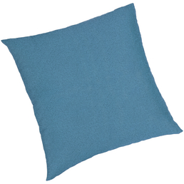 BEST Zierkissen »Selection-Line«, blau, Uni, BxL: 40 x 40 cm