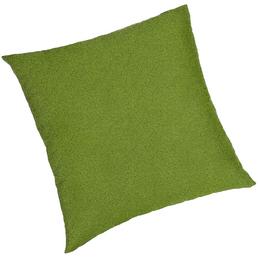 BEST Zierkissen »Selection-Line«, grün, Uni, BxL: 40 x 40 cm