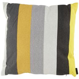 MADISON Zierkissen »Victoria Yellow«, B x L x H: 50  x 50  x 13 cm