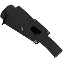 XEOOS® Zuluftstutzen »x5/x8«, ØxL: 10 x 35 cm, Stärke: 3 mm, Stahl