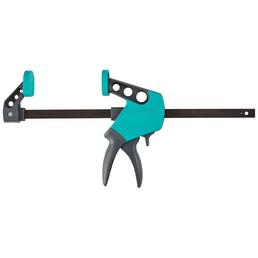 WOLFCRAFT Zwinge, Länge: 30 cm, Stahl/glasfaserverstaerkter_Kunststoff_gfk